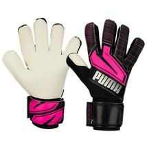 Puma Ultra Grip 1 RC Goalkeeper Gloves GK Soccer Football Black 04169702 - $100.99