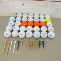 HUGE Random Assorted Lot of 35 Titleist Callaway Hogan Tourney Used Golf... - $12.97