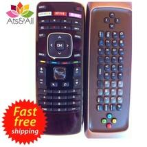 Vizio Smart TV Remote Control Universal Qwerty Keyboard Remote Internet App - $10.35