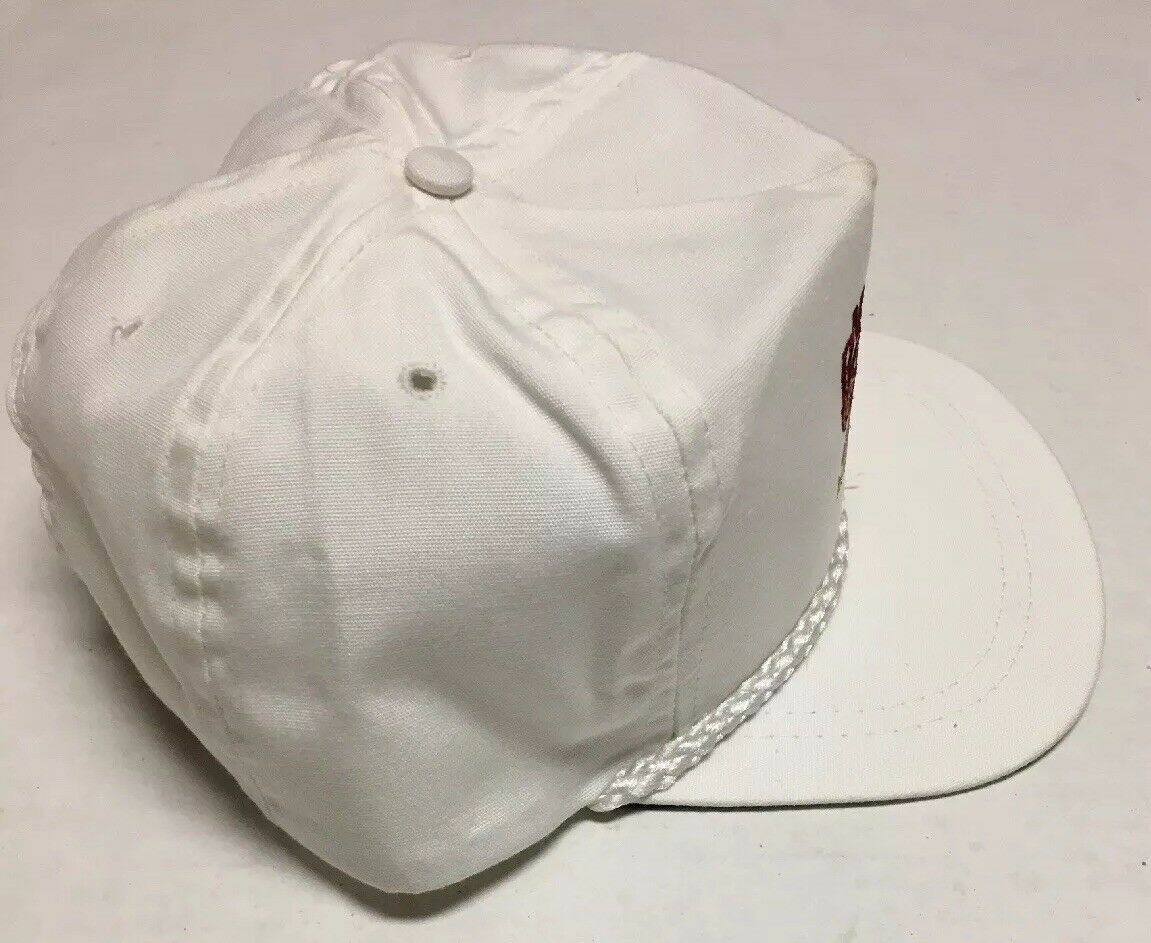 Vtg Max Rouse & Sons Inc Hat Auction Beverly Hills CA Cap Destroyed Made in USA image 8