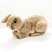 """Folkmanis Folktails Bunny Rabbit Puppet Plush 12"""" Cottontail Brown Hand Easter - $23.62"""