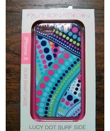 FASHIONATION Macbeth Collection Lucy Dot Surf Side iPhone 5 5S Slim Snap... - $9.90