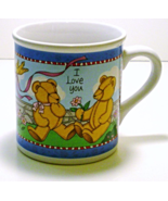 Russ Berrie Occasion's 'I Love You' Hot Beverage Mug Teddy Bears - $8.00