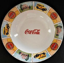 "Gibson Coca Cola 9"" Salad or Soup Bowl Good Old Days Ice Cold Coke Vinta... - $21.77"