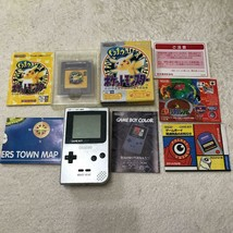 Game Boy Light Body Silver GAMEBOY LIGHT NINTENDO with game soft - $148.34