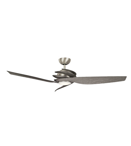 Primary image for Kichler 300700NI7 Spyra Ceiling Fans 62in Brushed Nickel Steel 1-light