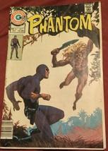 The Phantom #68 1975-CHARLTON COMICS-WILD Cover Newton Fn - $3.00