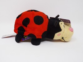Jay @ Play The Original FlipaZoo Mini Plush - New - Dottie Ladybug & Buz... - $8.54
