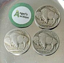 Buffalo Nickel 1927, 1928 and 1929 AA20BN-CN6078 image 3