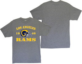 Los Angeles Rams 1946 Men's Gray T-Shirt Sizes (S thru 4XL) - $20.78+