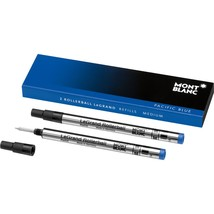 Montblanc 2 Rollerball LeGrand Refills in Pacific Blue 105165 - $19.49