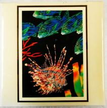 ART TILE IN THE BRINY DEEP COSTA MESA CA JONI SPINY FISH BARBARA WALLACE  - $28.50