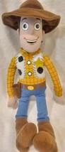 "Disney Parks WOODY Toy Story 16"" Stuffed Pixar Plush Disneyland  Gift Co... - $21.29"