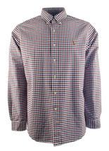 Polo Ralph Lauren Men's Classic Fit Tattersall Oxford Button Down Shirt - $62.49