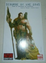 Scourge Of The Gods # 1 Variant Edition First Printing Marvel Soliel - $1.09