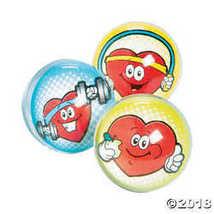 Heart-Health Bouncy Balls - $6.49