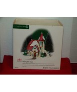 Dept. 56 - North Pole Elfland - Wedding Bells Chapel-MINT IN BOX - $22.05