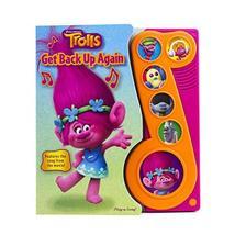 DreamWorks Trolls - Get Back Up Again Little Music Note Sound Book - Pla... - $4.81