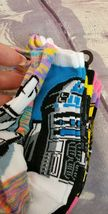 Disney Star Wars Girls No Show Ankle Socks 6 pairs Size M Youth (9- 2.5) image 4