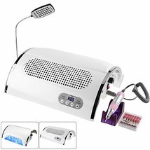 Drill Dust Collector and Nail Dryer Lamp, 3-IN-1 54w UV Nail Gel Curing ... - $224.65