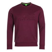Hugo Boss Boss Green Men's Salbo Slim Fit Crew Neck Sweater Sweatshirt 50333928 image 4