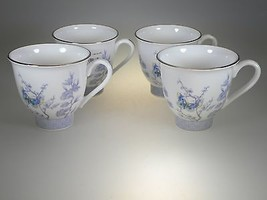 Royal Worcester Kimono Teacups Set of 4 NEW WITH TAGS Made in England - $37.36