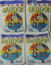 Vintage 1995 Mylan Foil Helium Balloon Looney Tunes Hope You're Back On ... - $14.83