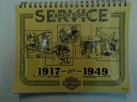 1917 1949 Harley Davidson Servicio Reparación Tienda Manual Nuevo Varios Años - $196.83