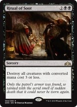 MTG x1 Ritual of Soot Guilds of Ravnica RARE Black Magic the Gathering NM/M - $1.89