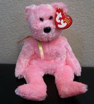 Ty Beanie Baby Sherbet Pink Bear NEW - $6.92