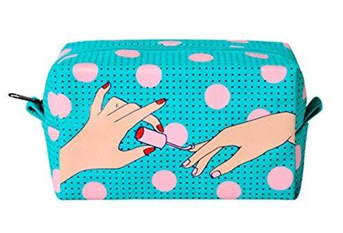 Creative High-capacity Makeup Bags/Storage Bags(Turquoise)