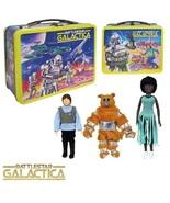 Battlestar Galactica 35th Anniversary Tin Lunch box +Figures Limited Edi... - $79.99