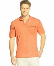Medium Men's Tommy Bahama Island Modern Fit New Salerno Polo Shirt Fireball