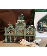 Dept 56 Christmas In The City Lighted 2005 EAST HARBOR FERRY TERMINAL 59... - $89.95