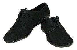 Aerosoles Guitar Solo Shoes Oxfords Black  Buttery Suede Leather Womens ... - $14.84