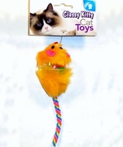 Shurbert Color Kitty Mouse in Ball New 42104