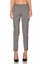 $265 NWT Theory TESTRA 2B Edition Wool Blend Cropped Light Gray Pants sz 12 - $99.99