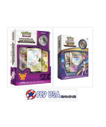Pokemon Shining Legends Mewtwo and Mew Mythical Collection Pin Boxes Bundle - $44.99