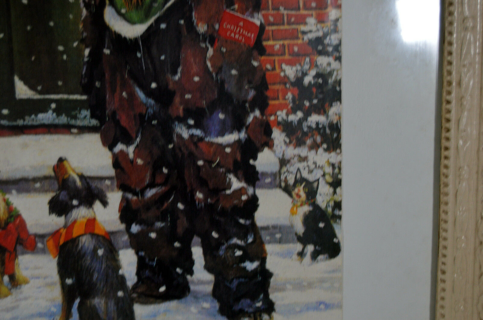 Unique Signed Artist Proof Leighton Jones Emmett Kelly Christmas Carol Scrooge image 5