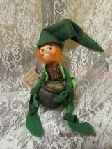 "Vintage Annalee 1992 10"" Leprechaun With Pot O'gold Mwt - $26.99"