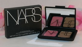 New NARS Blush & Bronzer Compact Duo Orgasm & Laguna  .17oz 5 g /.16 oz 4.7 g - $32.55