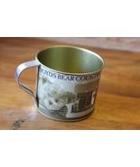 Boyds Bears Teddy Bear Factory Tin Cup Souvenir - $8.99