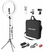 Neewer Advanced Bague Lumière LED 2,4G 48cm Réglable Ecran LCD Et Manett... - $259.54