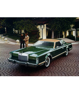 1977 Lincoln Continental Mark V | 24 X 36 inch poster  - $18.99