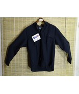 BLAUER WOMENS SECURITY/LAW ENFORCEMENT UNIFORM LONG SLEEVE BLUE W ZIPPER... - $17.63