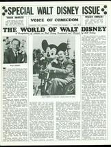 Voice of Comicdom Fanzine #12 1968- Walt Disney- 1st Corben comic FN - $181.88