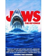 """JAWS """"The Revenge"""" Movie Promo Stand-Up Display - Horror Collectibles Gift - $15.99"""