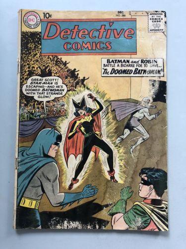Detective Comics (1937 1st Series) #286 Batman Robin