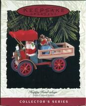 1993 - New in Box - Hallmark Christmas Keepsake Ornament - Happy Haul-idays - $4.94