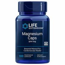Magnesium Caps 500mg 100 Caps oxide/citrate/ Life Extension, Exp 12/22 - $12.38